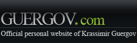 Krassimir Guergov - Official Personal Website